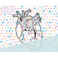 Herz Plotterdateien