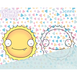 Sonne Digital Stamp