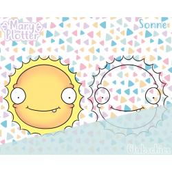 Sonne Digital Stamp