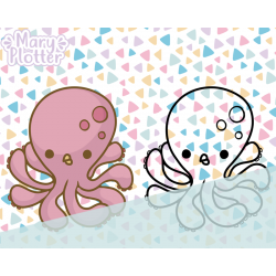 Oktopus Digital Stamp