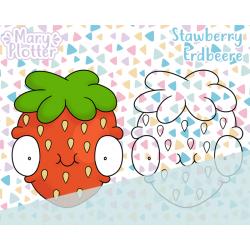 Erdbeere Digital Stamp
