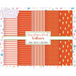 Erdbeere Digital Paper